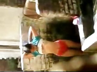 Indian maids daughter taking off dress an mobilecapture